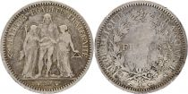 France 5 Francs Hercules - 1849 A Paris Silver