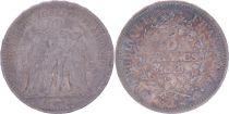 France 5 Francs Hercules - Second Republic - 1849 A Paris - VF