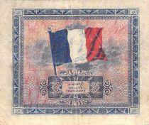 France 5 Francs Impr. américaine (drapeau) - 1944 Série 2 - TB
