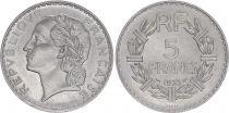 France 5 Francs Laureate head - 1933 - Essai