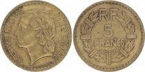 France 5 Francs Lavrillier - 1946