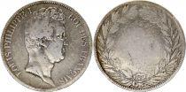 France 5 Francs Louis-Philippe 1830-1831 Argent - en creux