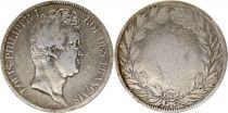 France 5 Francs Louis-Philippe 1830-1831 incuse lettering - Silver
