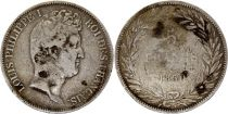 France 5 Francs Louis-Philippe 1830 A Paris  Argent - en relief