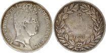 France 5 Francs Louis-Philippe 1831 Argent - en creux