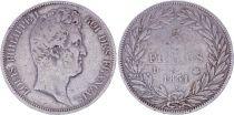 France 5 Francs Louis-Philippe 1831 D Lyon Argent - en creux - TB