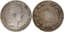 France 5 Francs Louis-Philippe 1831 D Lyon Argent - en creux