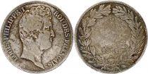France 5 Francs Louis-Philippe 1831 L Bayonne Argent - en creux