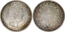 France 5 Francs Louis-Philippe 1831 M Toulouse Argent - en creux