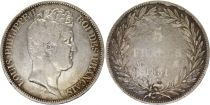France 5 Francs Louis-Philippe 1831 M Toulouse incuse lettering - Silver
