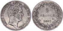 France 5 Francs Louis-Philippe 1er - 1830 A Paris