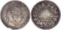 France 5 Francs Louis-Philippe 1er - 1831 BB Strasbourg