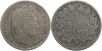 France 5 Francs Louis-Philippe 1er - 1831 D Lyon