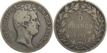 France 5 Francs Louis-Philippe 1er - 1831 L Bayonne
