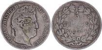 France 5 Francs Louis-Philippe 1er - 1831 M Toulouse Rare