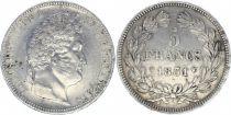 France 5 Francs Louis-Philippe 1er - 1831 Q Perpignan