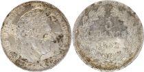 France 5 Francs Louis-Philippe 1er - 1832 W Lille Argent