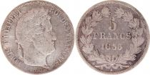 France 5 Francs Louis-Philippe 1er - 1833 B Rouen