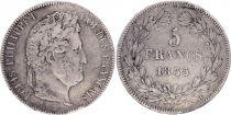 France 5 Francs Louis-Philippe 1er - 1835 T Nantes