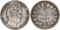 France 5 Francs Louis-Philippe 1er - 1836 K Bordeaux - 2 em ex