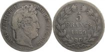 France 5 Francs Louis-Philippe 1er - 1839 D Lyon - Arche