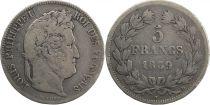 France 5 Francs Louis-Philippe 1er - 1839 D Lyon - Arche