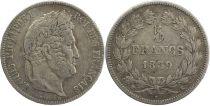France 5 Francs Louis-Philippe 1er - 1839 K Bordeaux