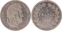 France 5 Francs Louis-Philippe 1er - 1839 W Lille