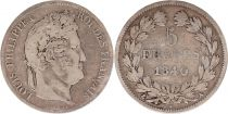 France 5 Francs Louis-Philippe 1er - 1840 A Paris