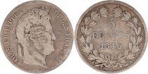 France 5 Francs Louis-Philippe 1er - 1840 A Paris