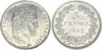 France 5 Francs Louis-Philippe 1er - 1842 BB Strasbourg