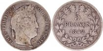 France 5 Francs Louis-Philippe 1er - 1842 W Lille