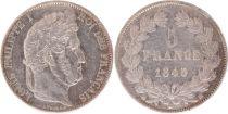 France 5 Francs Louis-Philippe 1er - 1845 BB Strasbourg