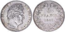 France 5 Francs Louis-Philippe 1er - 1847 A Paris