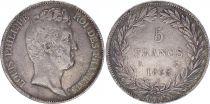 France 5 Francs Louis-Philippe 1er - Sans I - 1830 A Paris