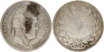 France 5 Francs Louis-Philippe 1st - 1831 A Paris - Silver