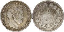 France 5 Francs Louis-Philippe I - 1831 B Rouen Argent