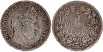 France 5 Francs Louis-Philippe I - 1831 W Lille Argent