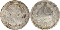 France 5 Francs Louis-Philippe I - 1832 W Lille Silver