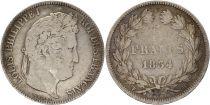France 5 Francs Louis-Philippe I - 1834 H La Rochelle - Argent