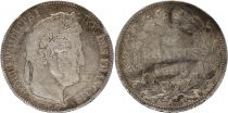 France 5 Francs Louis-Philippe I - 1838 MA Marseille - Argent