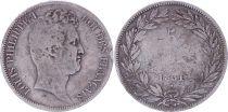 France 5 Francs Louis-Philippe Ier - 1831 MA Marseille tranche en creux - PTB