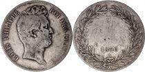 France 5 Francs Louis-Philippe sans le I - 1831 B tranche en creux