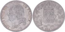 France 5 Francs Louis XVIII - 1817 L Bayonne - F+