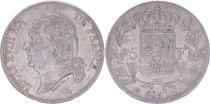 France 5 Francs Louis XVIII - Buste nu - 1817 L Bayonne - TB+