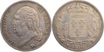 France 5 Francs Louis XVIII Buste nu - 1816 A