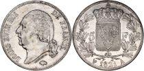 France 5 Francs Louis XVIII Buste nu - 1821 A