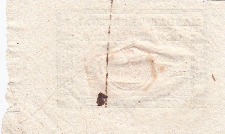 France 5 Francs Mandat Territorial - 28 Ventose An IV (18.3.1796) - Cachet Rouge - SUP +