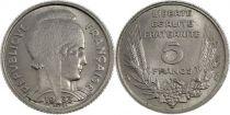 France 5 Francs Marianne - 1933