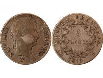 France 5 Francs Napoléon, 1815 I Limoges - les 100 Jours